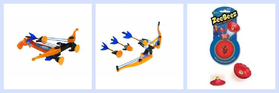Air Storm Z-Tek Cross Bow, Z-Curve Bow and ZeeBeez Giveaway