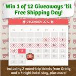 12 Days Free Shipping Calendar image