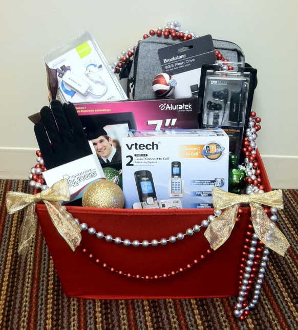 Digital Enthusiast Gift Basket