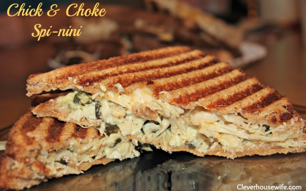 Chick &amp; Choke Spi-nini Panini Recipe