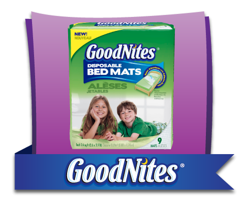 GoodNites Disposable Bed Mats Video Review and Ambassadorship