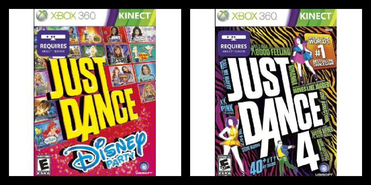Get Your Groove On with Just Dance: Disney Party and Just Dance 4