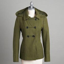 5K in points would certainly go a long way. If I win, I would start with this Metaphor Women's Hooded Pea Coat