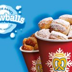 pretzel nuggets snowballs