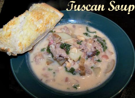 Tuscan Soup – 8 WW Points Plus