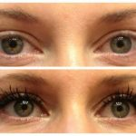 awesome before after lashes