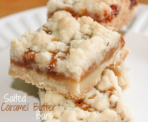 Salted Caramel Butter Bars - Clever Housewife