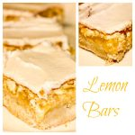 Frosted Lemon Bars using Meyer Lemons - My favorite lemon bar recipe ever!