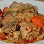 quick pork cassoulet