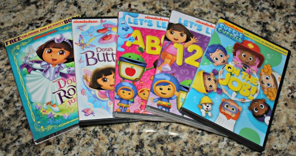 nickelodeon dvds