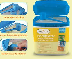 Mom-Friendly Packaging With SIMPLY RIGHT Infant Formula