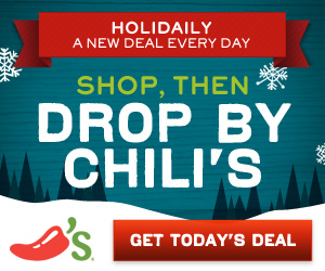 Chili's Coupons Now Through December 24th