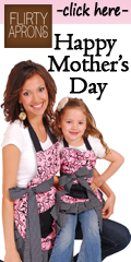 Mother&#8217;s Day Gift Idea: Flirty Aprons! 20% off Everything