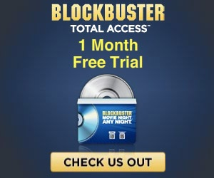 Free Movie and Game Rentals with the Free 30 Day Blockbuster Trial