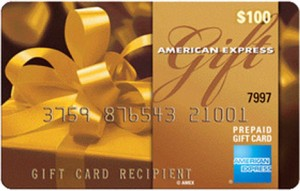 $100 American Express Gift Card Flash Giveaway