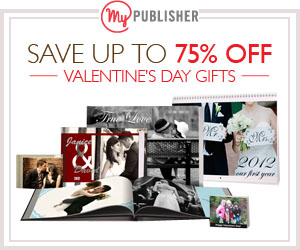 MyPublisher Valentine's Day Gifts up to 75% Off!