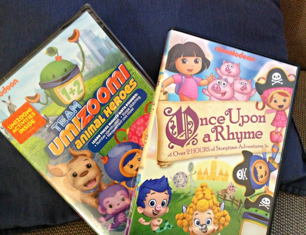 Enjoying Downtime With Nickelodeon Favorites: Once Upon a Rhyme