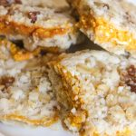 Pumpkin Bars with Pecan Oat Crust