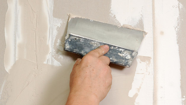 5 secrets to successful diy drywall repair clever housewife. Black Bedroom Furniture Sets. Home Design Ideas