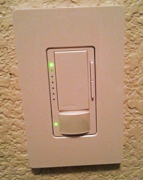 lutron occupancy sensor light switch giveaway clever. Black Bedroom Furniture Sets. Home Design Ideas
