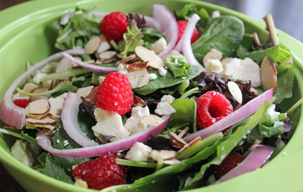 Raspberry Salad #FreshFinds #shop