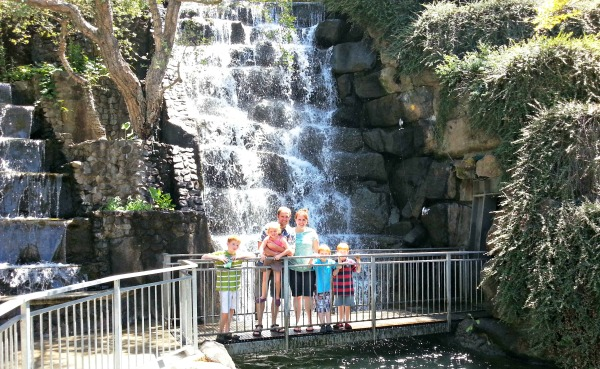 Gilroy Gardens Waterfalls