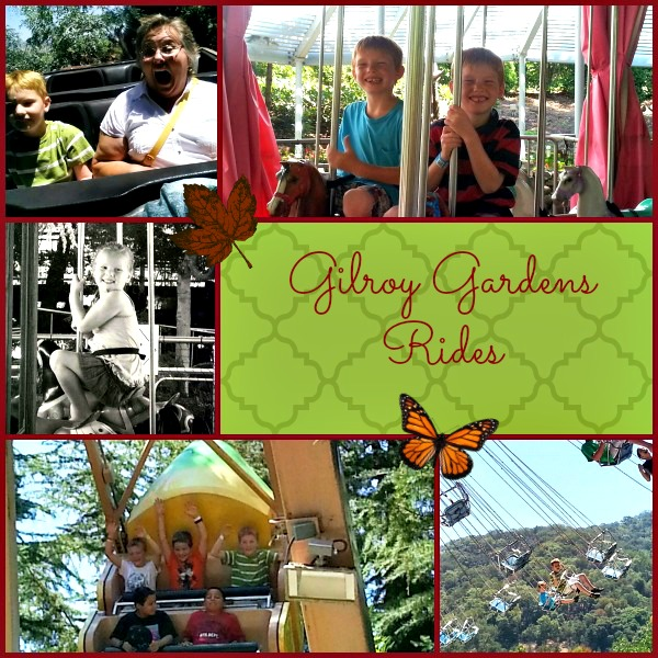 Gilroy Gardens Rides