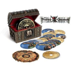 Pirates of the Caribbean Movie Collection on Blu-ray with Digital Copies $91.99 (Reg. $169.99)
