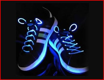 LED Flashing Shoe Laces for $4.07 + Free Shipping! These are so Fun!