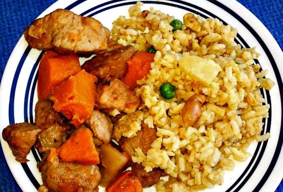 Island Pork and Pineapple Fried Rice
