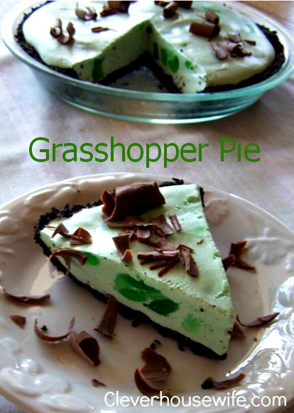 Grasshopper Pie – Perfect for Saint Patrick's Day