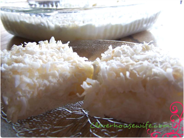 Coconut Cream Pie Bars Recipe