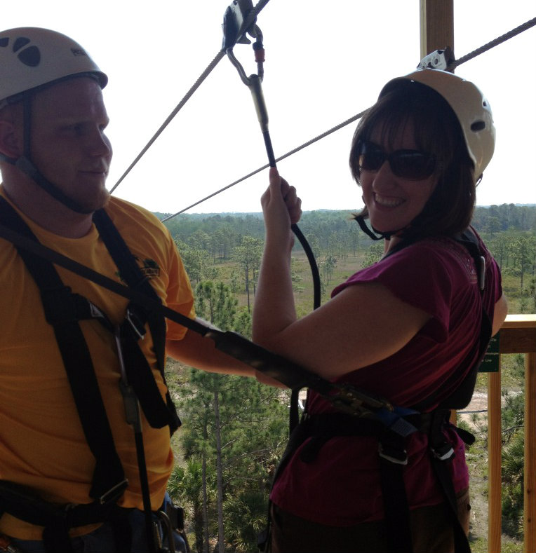 the first zipline roller coaster in the usa and i rode it