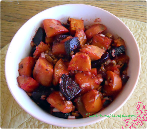 Beets And Sweets Salad