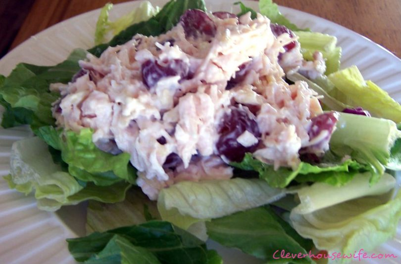 Low Calorie Chicken Salad Clever Housewife