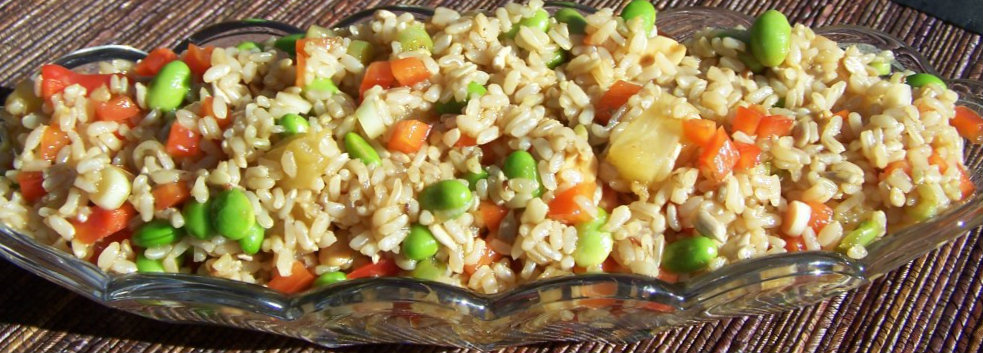 Thai Brown Rice Salad