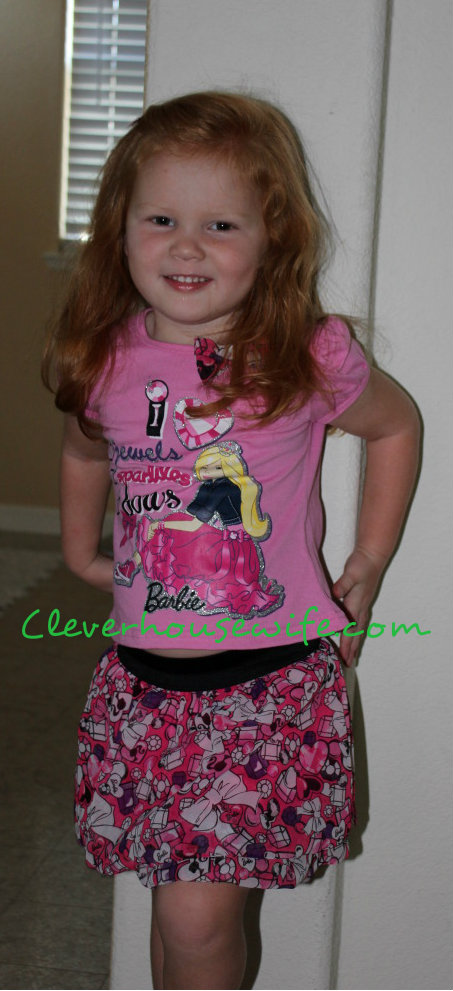 Fashion Show Of Barbie Clothing For Little Girls Clever Housewife