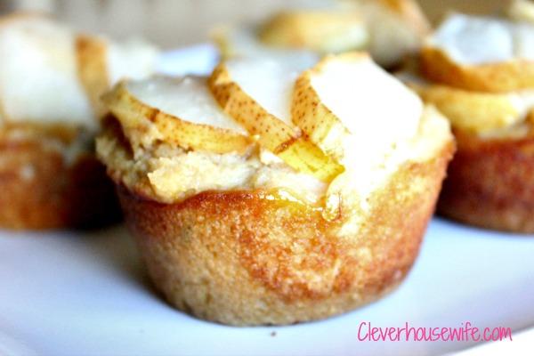 Vanilla Pear Muffins Recipe