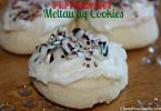 Candy Cane Peppermint Meltaway Cookies