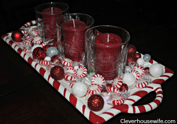 Easy affordable christmas centerpiece clever housewife