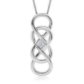 Helzberg diamonds infinity x infinity diamond pendant giveaway aloadofball Image collections