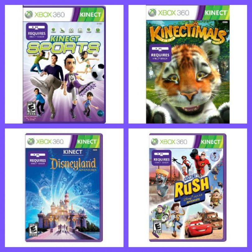 Xbox 360 Kinect Games ...