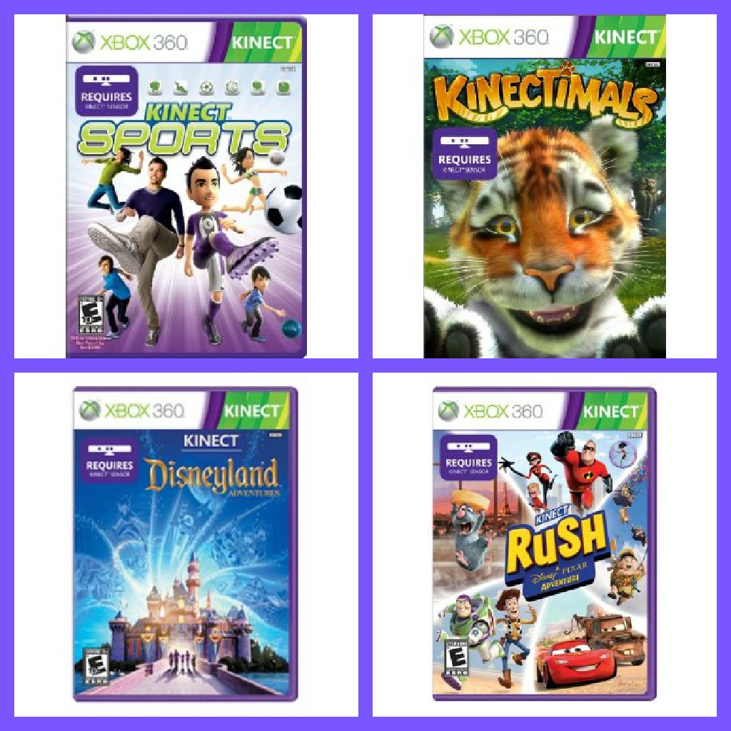 Xbox 360 Kinect Games Giveaway Bash