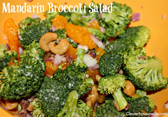 Meals In a Pinch With Lean Cuisine & Side of Mandarin Broccoli Salad #FrozenFavorites