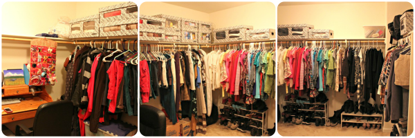 Closet Organization with Fellowes Bankers Boxes