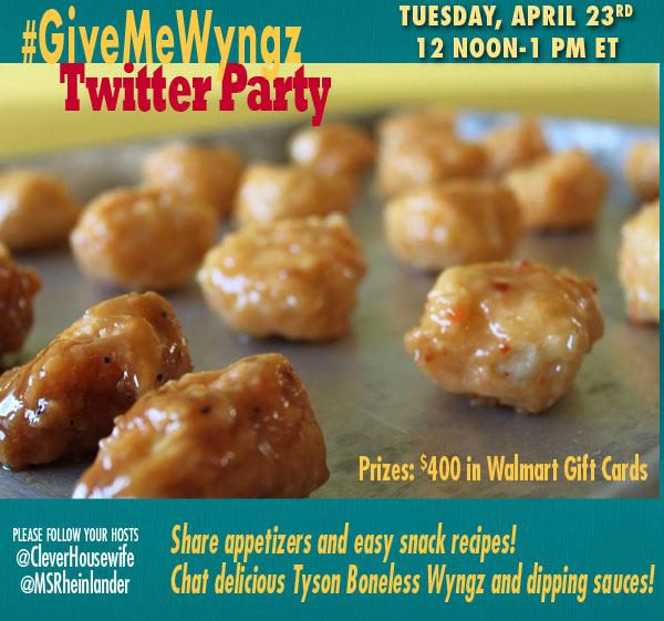 #GiveMeWyngz-Twitter-Party-RSVP