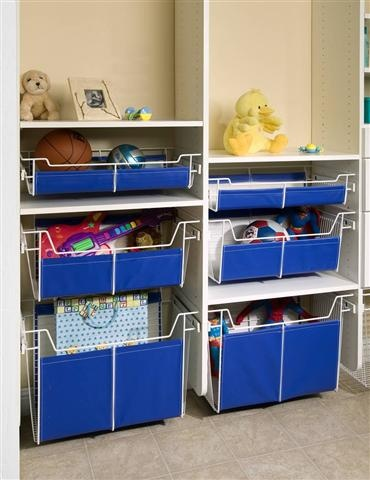 Tailored Living Shelf Cubbies