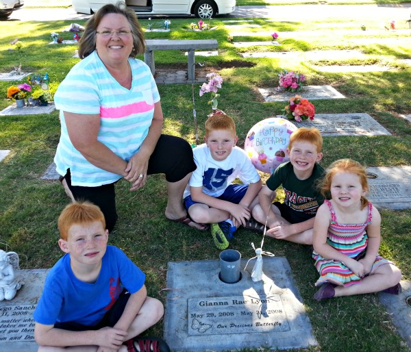 Celebrating an Angel's 5th Birthday at the Cemetery