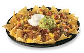 green burrito super nachos