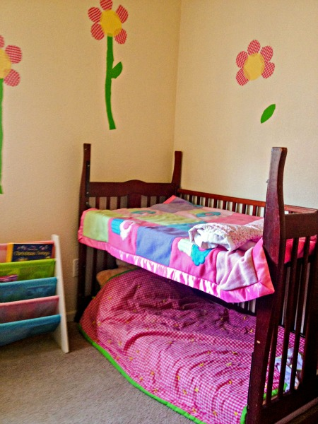 Crib To Toddler Bed Transformation Clever Housewife